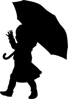 219x320 The Lady Wolf Child With Umbrella Silhouette Svg Free Svg Amp Wpc