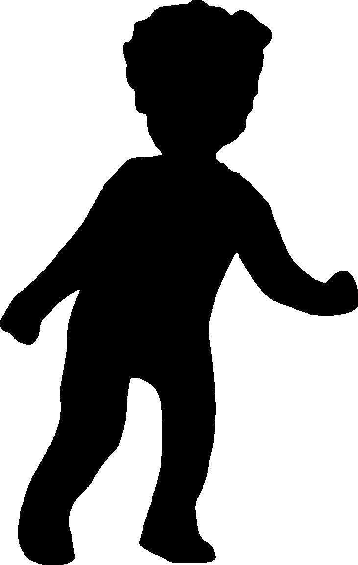 731x1155 8 Boy Silhouette (Png Transparent)