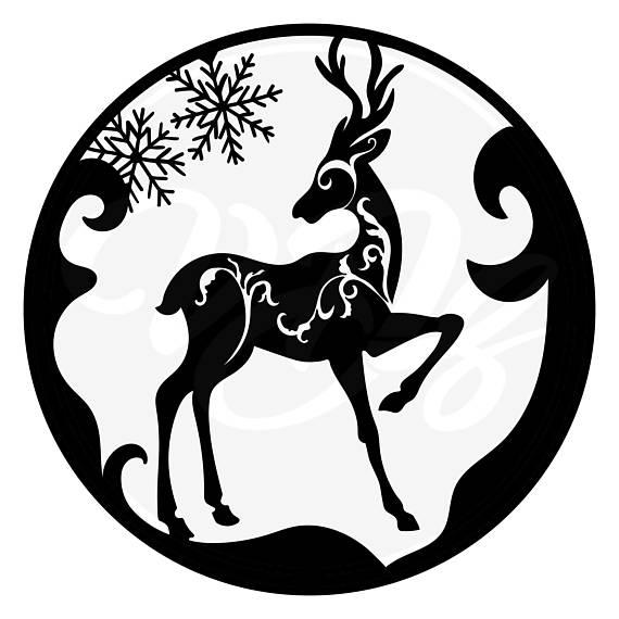 570x570 Reindeer Clipart, Christmas Clipart,reindeer Svg, Christmas Svg