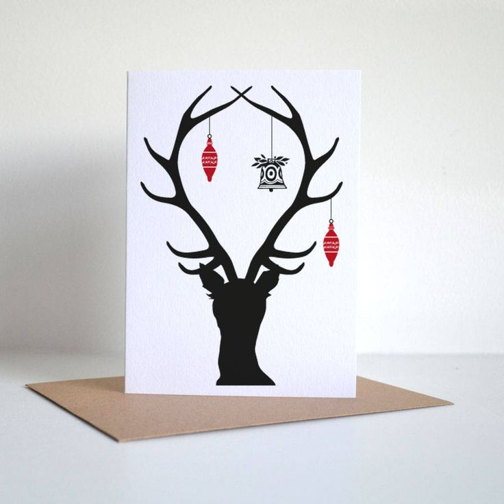 Silhouette Christmas Cards