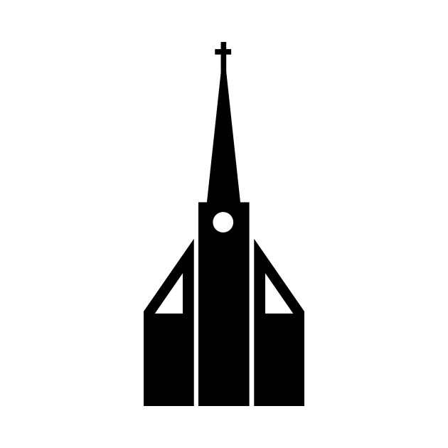 630x630 Limited Edition. Exclusive Church Silhouette