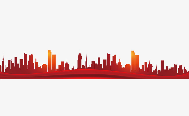 650x400 City Silhouette, Big Red, Skyline, City Png Image And Clipart