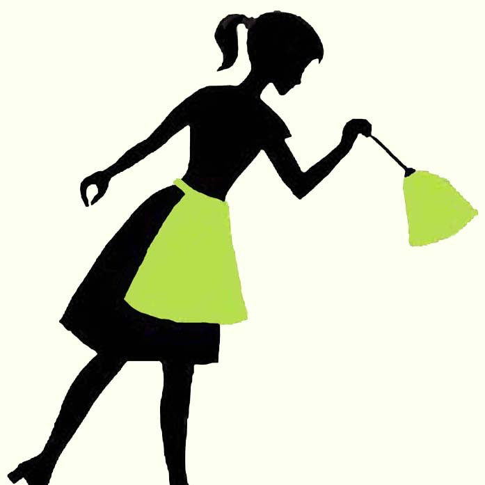 silhouette cleaning at getdrawings com free for personal use rh getdrawings com cleaning lady clip art free house cleaning lady clipart