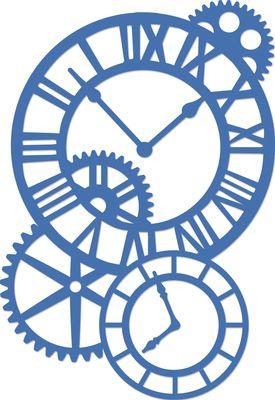 275x400 Decorative Die Cogs Amp Clocks