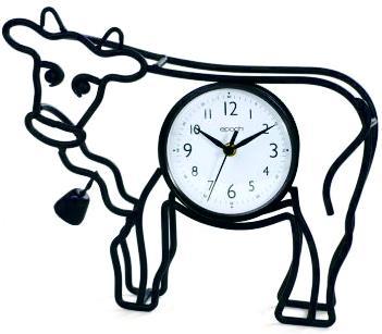 351x307 Silhouette Clock