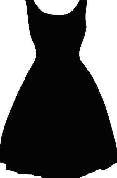 400x609 Dress, Dark, Silhouette, Outline, Black, Clothing, Sartorial