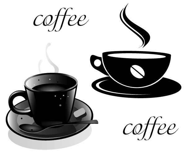 600x494 Coffee Clipart Silhouette Png