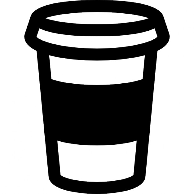 626x626 Coffee Cup Outline Icons Free Download