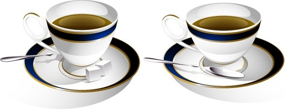589x226 Coffee Cup Silhouette Free Vector Download (7,375 Free Vector)