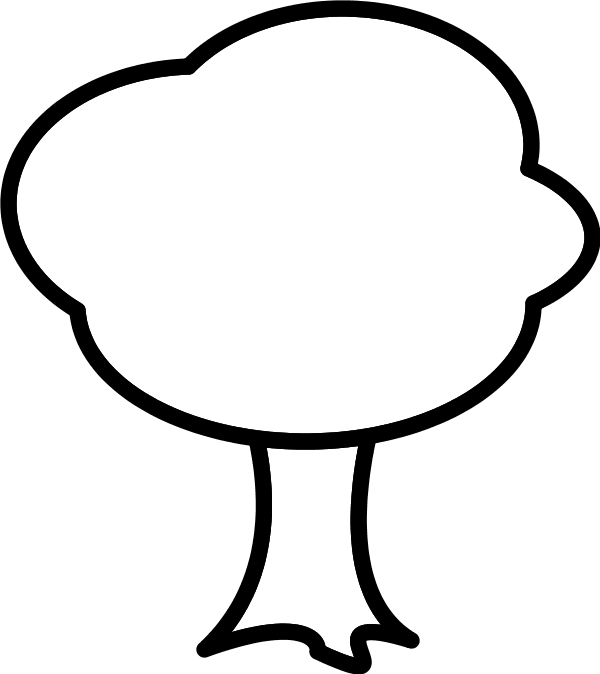 600x674 Simple Tree Silhouette Google Search Crafts Comfortable