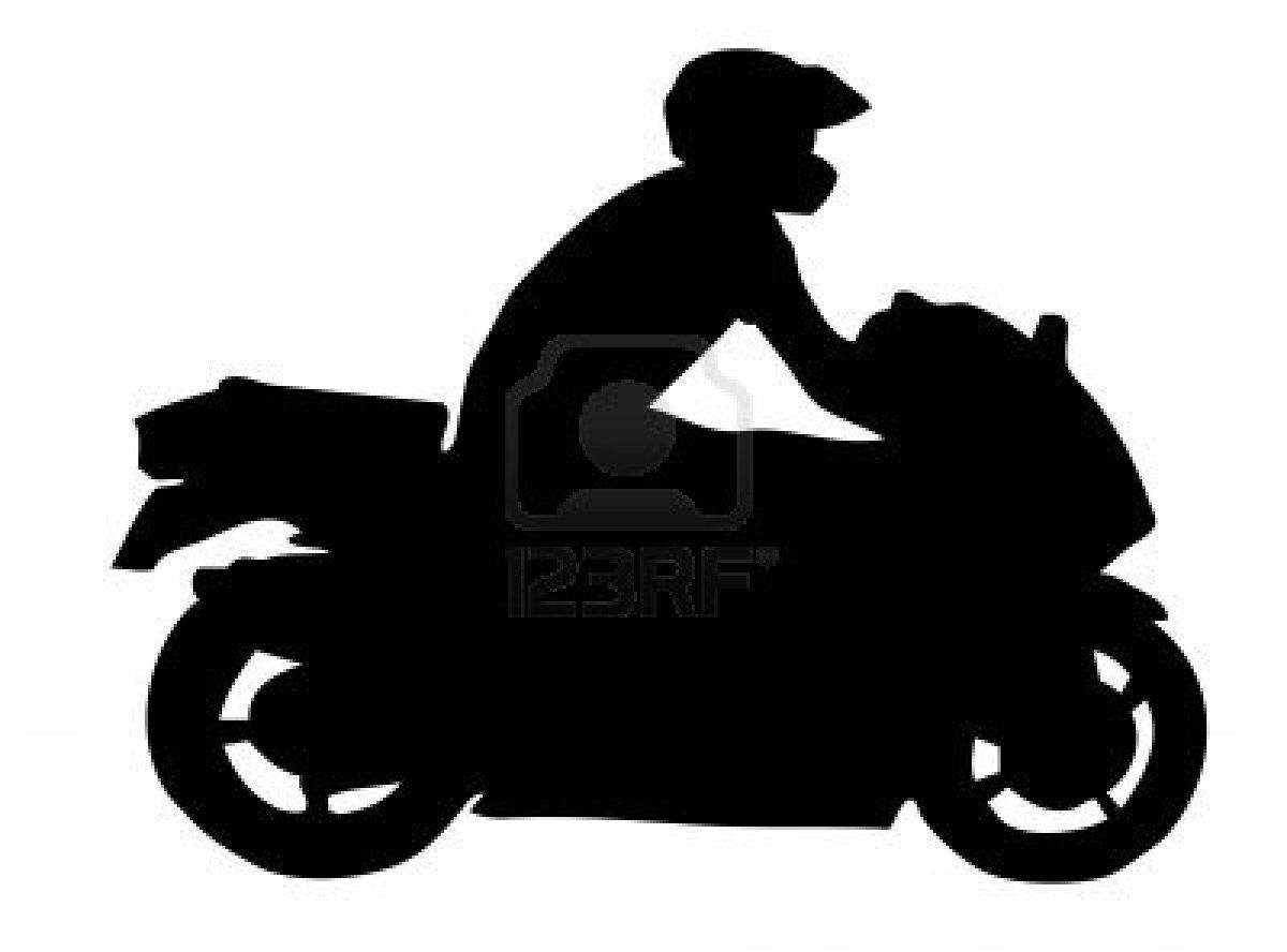 1200x888 Motorcycle Silhouette Coloring Pages And Stencils