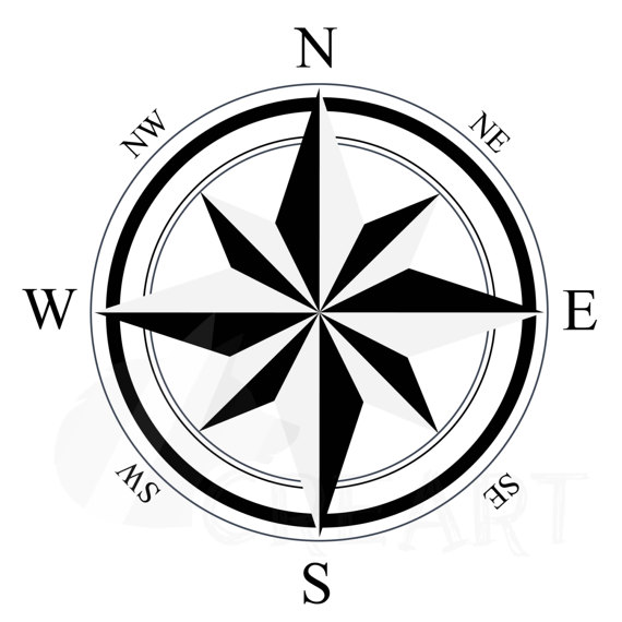 570x570 Compass Silhouette Pack Eps Png Jpg Pdf Svg Vector