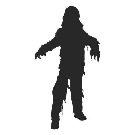 512x512 Halloween Ghost Costume Silhouette