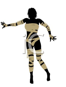 263x350 Mummy Clipart Silhouette