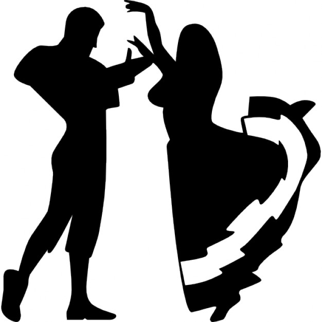626x626 Couple Dancing Flamenco Icons Free Download