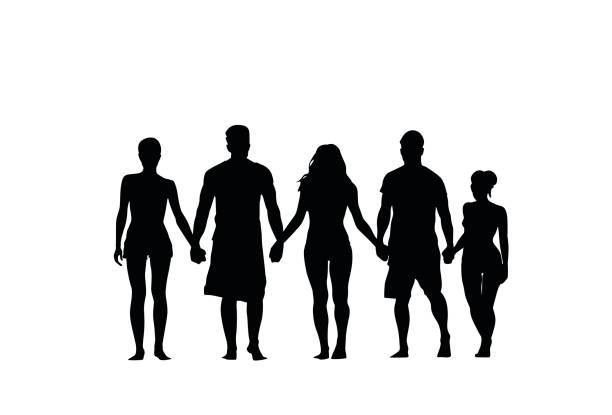 silhouette couple holding hands at getdrawings com free for rh getdrawings com People Holding Hands Clip Art Black and White Drawings of People Holding Hands