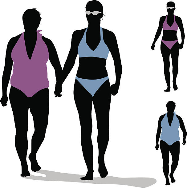 607x612 Silhouette Of Couple Holding Hands On Beach Clipart