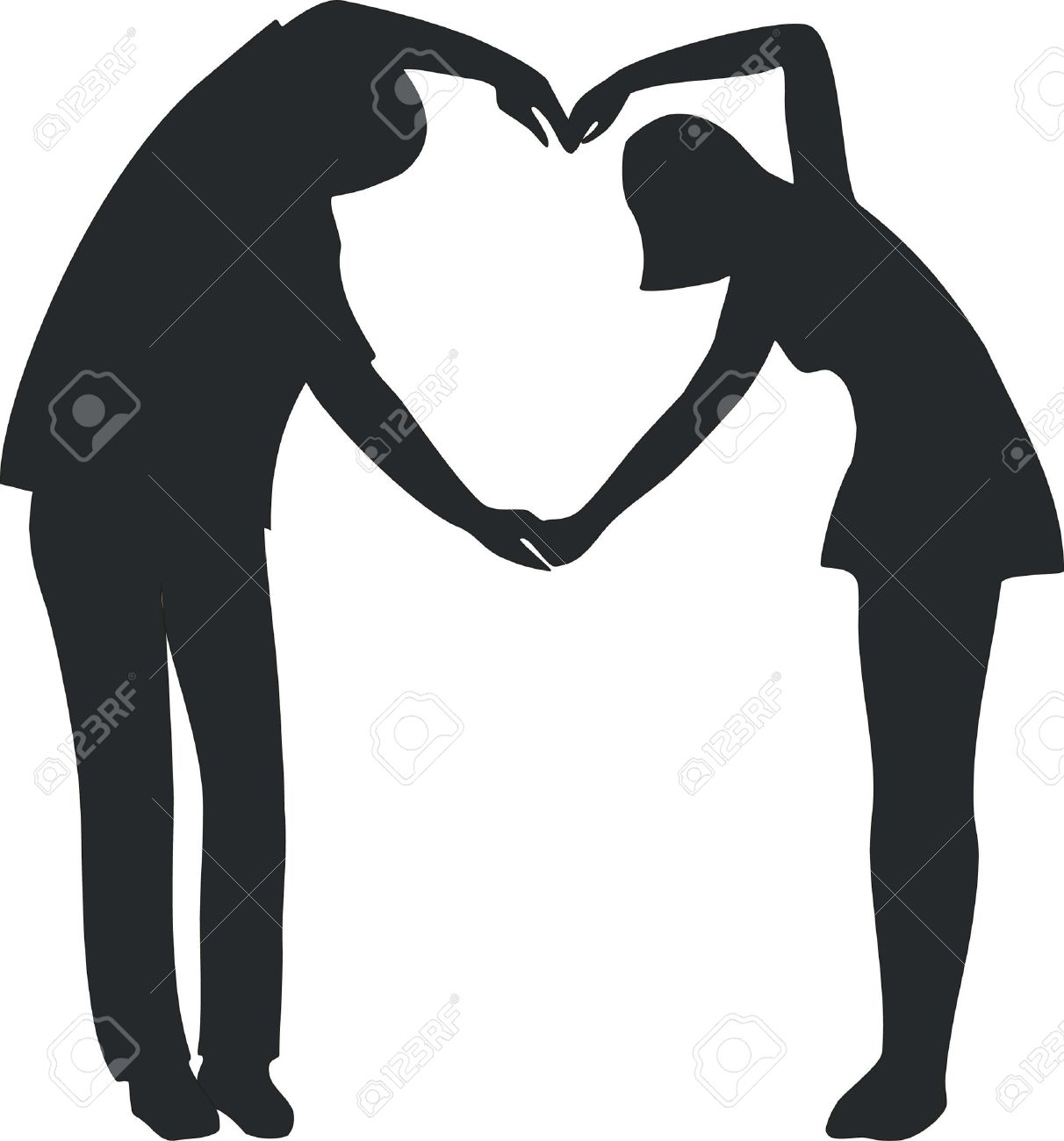 1212x1300 Boy And Girl Kissing Silhouette Collection