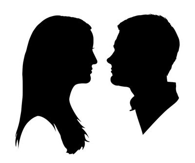400x335 Couple Silhouette