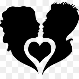 260x260 Couple Silhouette Png, Vectors, Psd, And Clipart For Free Download