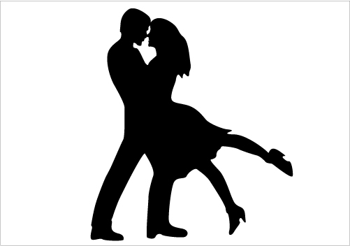 501x352 Photos Dancing Couples Silhouette,