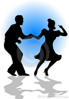 236x339 Silhouette Swing Dancing Couple By Dance Clipart