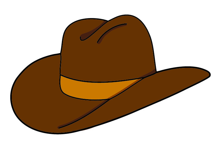 Silhouette Cowboy Hat At Getdrawings Free Download
