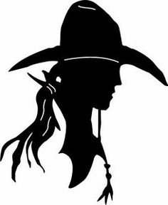 236x288 3 Cowgirl Silhouette Die Cut Silhouette,etsy Ja Cowgirl
