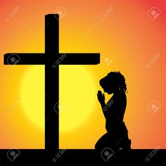 236x236 Praying Silhouette Vecor Download Praying Vectors People Vector