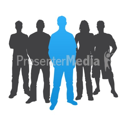 400x400 Man Leader Casual Silhouette