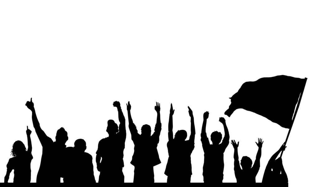 silhouette crowd at getdrawings com free for personal use rh getdrawings com crowd clipart silhouette crowd clipart free