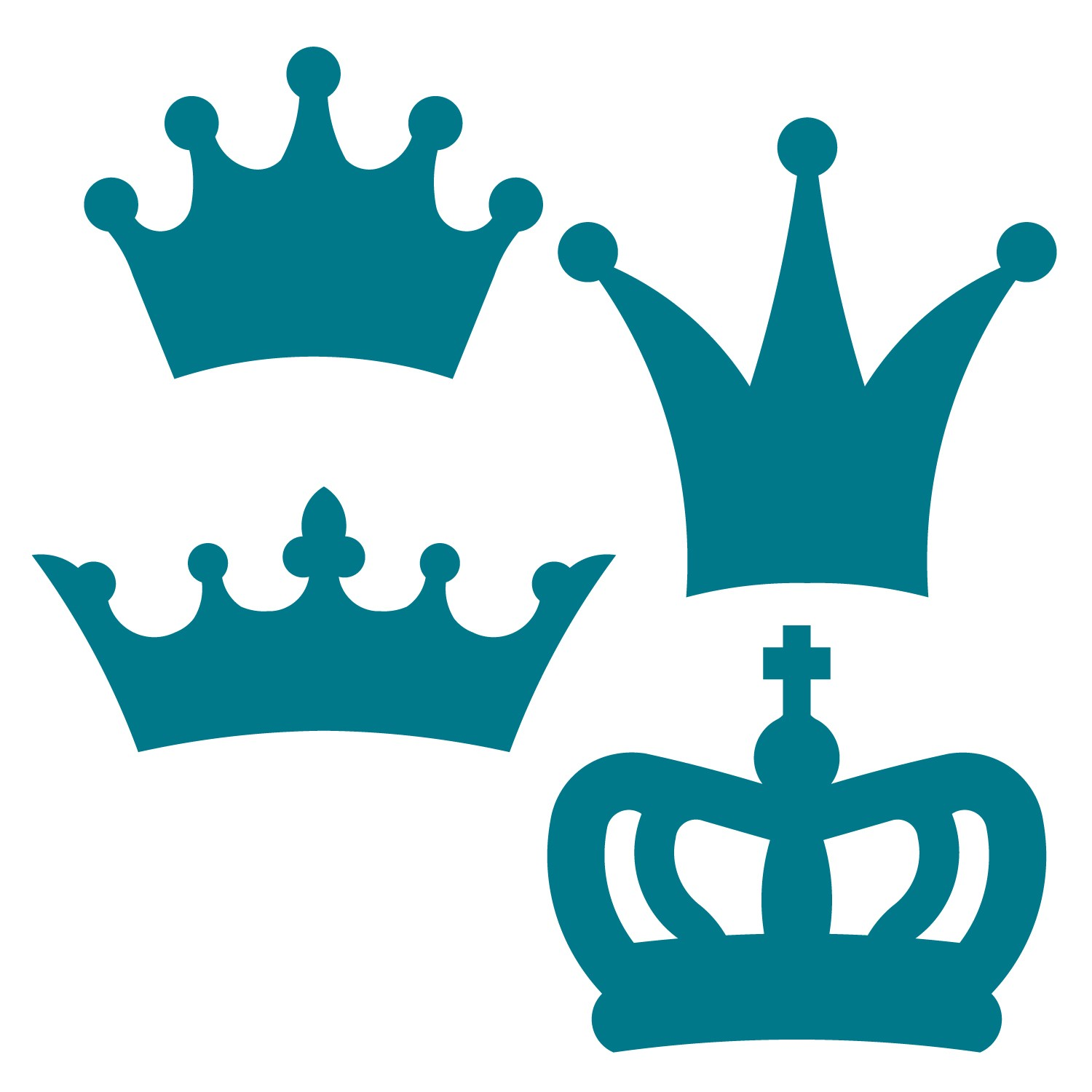 Silhouette Crown