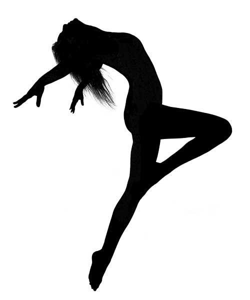 500x600 Dancer Silhouette Ink Dancer Silhouette, Dancers