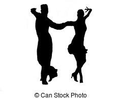 240x194 Couple Of Dancers Dancing Latin Dances. Couple Of Dancers Stock