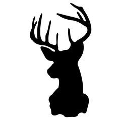 236x236 Simply Stone Creek Make It Monday! Deer Head Silhouettes