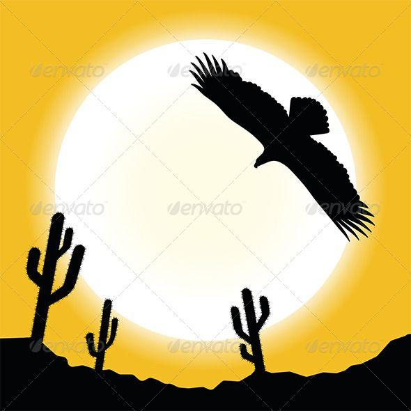 590x590 Desert Sun Landscape Ecommerce Logo, Font Logo And Vector Graphics