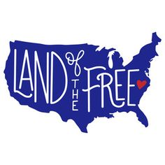 236x236 Land Of The Free Cuttable Design Cut File. Vector, Clipart
