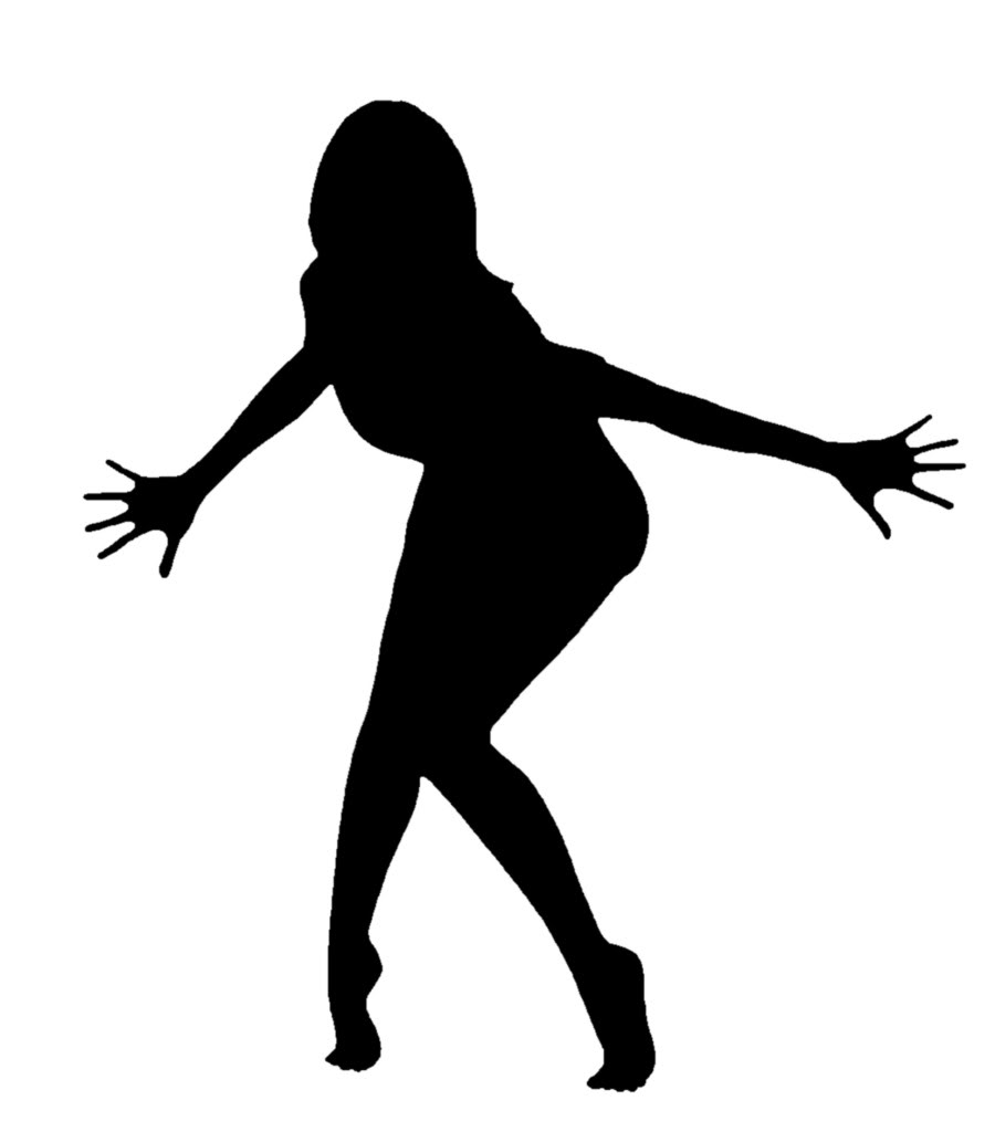 900x1024 Silhouette Clipart