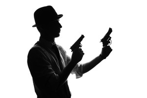 300x199 Detective Silhouette Royalty Free Photos And Vectors
