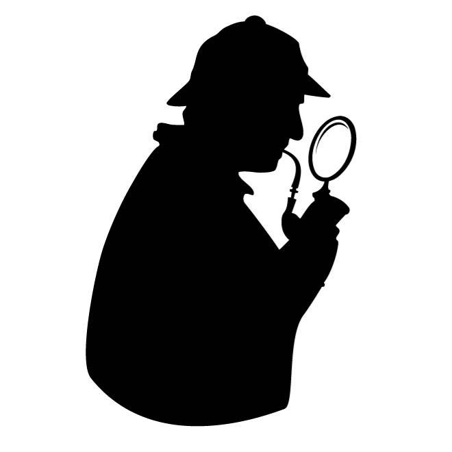 660x660 Detective Silhouette Image