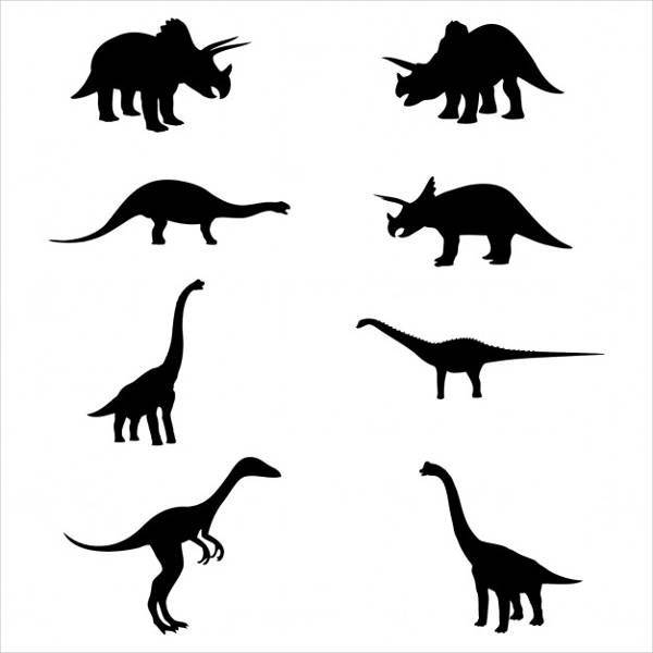 Silhouette Dinosaur at GetDrawings.com | Free for personal use ...