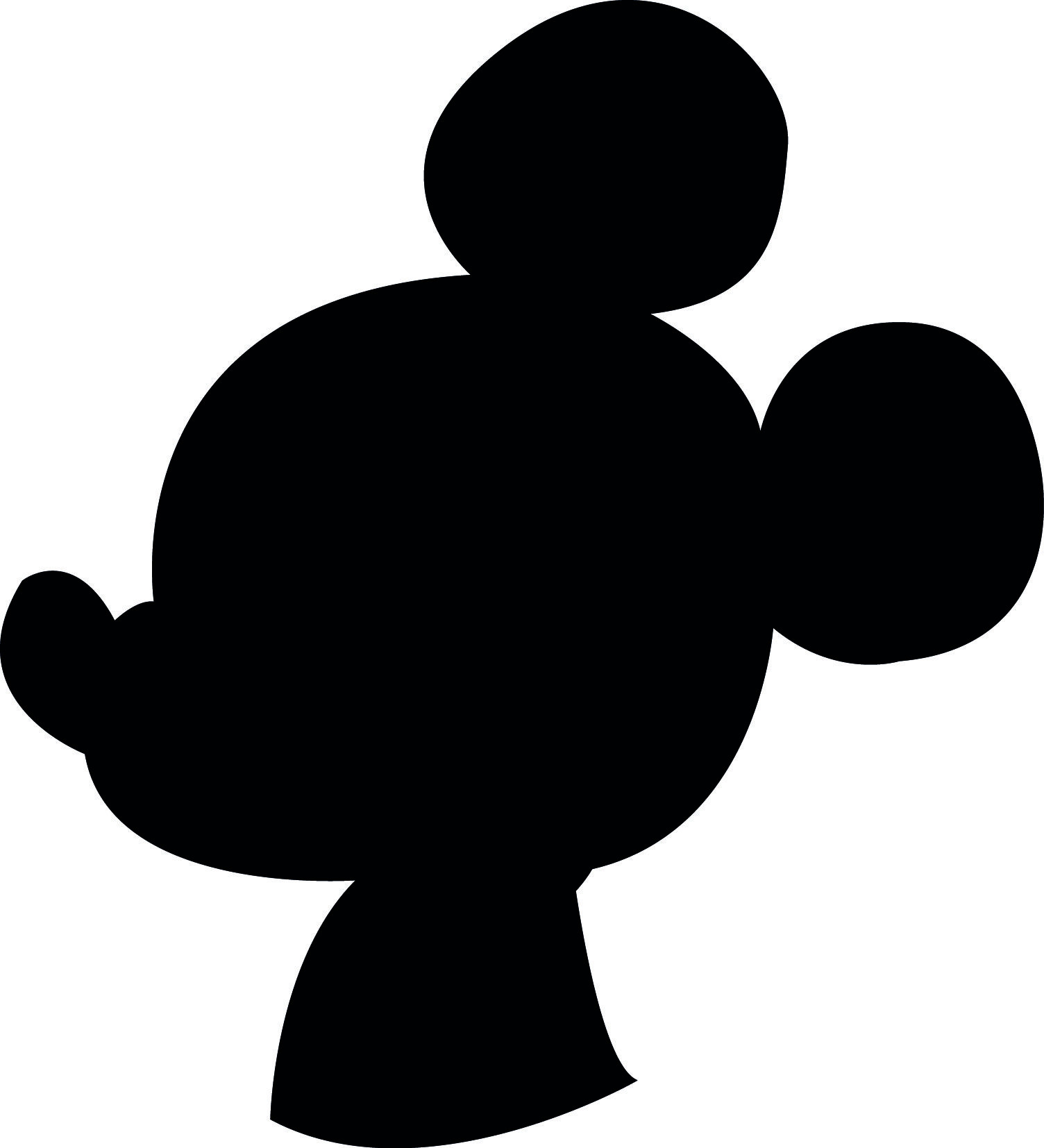 1504x1654 Downloadable Disney Mickey Donald And Goofy Silhouettes Food