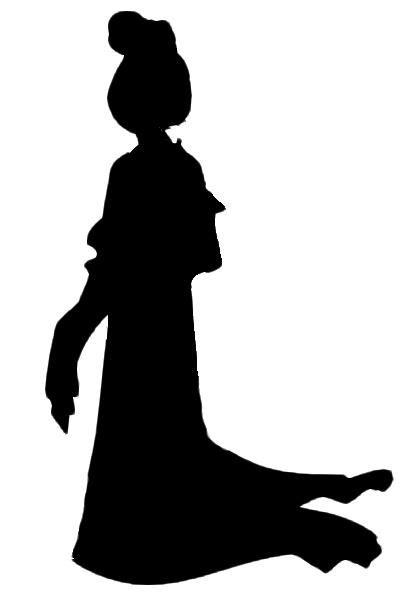 417x600 Mulan Silhouette To Create Silhouette, Disney