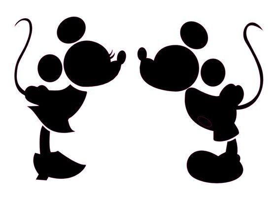 564x404 Very Cute Disney Mickey Cut File For Silhouette Cameo. Free! Made
