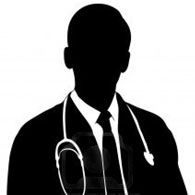 195x195 Icon Doctor Silhouette