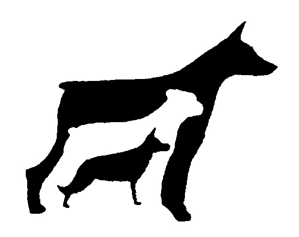 616x489 Pet Portraits On Clipart Library Dog Silhouette, Spaniels