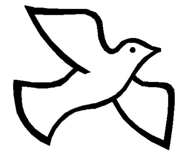 600x500 White Dove Clipart Flight Silhouette
