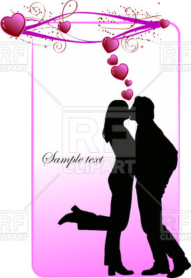 275x400 Silhouette Of Kissing Couple