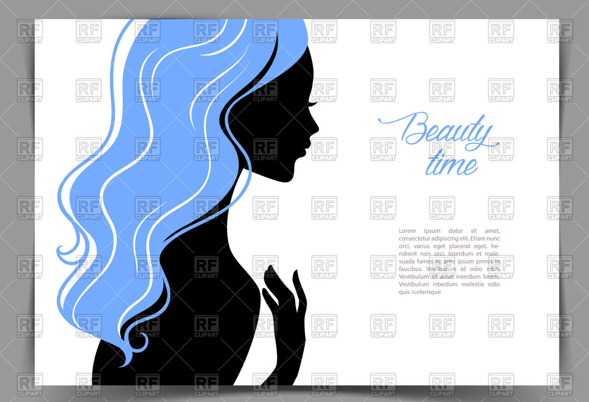 1200x819 Silhouette Of Young Girl With Blue Hair