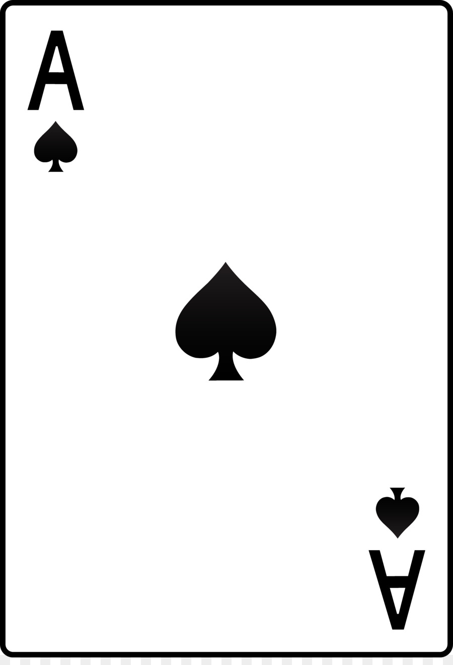 900x1320 Ace Of Spades Playing Card Ace Of Hearts Clip Art